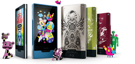 customize with Zune Originals